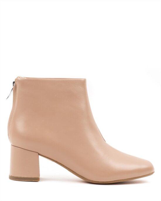 Ankle Boots CLARKS SHEER55 ZIP 26161701 PRALINE